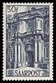 Saar 1948 251 ehemalige Benediktiner Abtei, Mettlach, Hauptportal.jpg