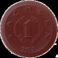 Sachsen, 1921, 1Mk, Keramik b.png