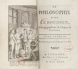 Image illustrative de l'article La Philosophie dans le boudoir