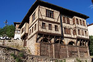 Ottoman architecture - Image: Safranbolu traditional house 1