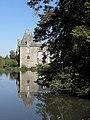Saint-Brice-en-Coglès (35) Château du Rocher-Portail 05.jpg