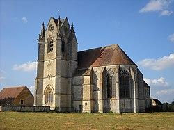 Saint-Cyr-la-Rosière - Église Sainte-Gauburge - 1.JPG