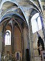 Saint-Papoul - Abbaye - Abbatiale - Absidiole sud.jpg