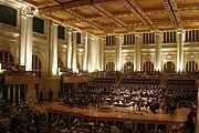 Sala São Paulo, maior sala de concertos da cidade.