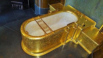 Salle de bain du Roi de l'hôtel du ministre des Affaires étrangères PA00088723 (5).jpg
