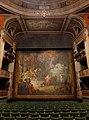 Salle du théâtre de Chambéry avec le rideau d'Orphée (2018).JPG