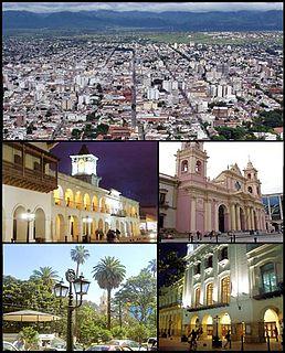 Salta City in Argentina