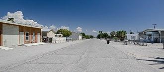 Salton Sea Beach, California - Housings at Coachella Avenue