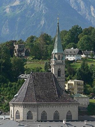 Franciscan Church, Salzburg - Image: Salzburg Franziskanerkirche