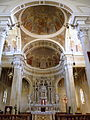 San Giovanni Battista, interno, cupole (Agna).JPG