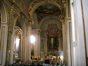 San Jacopo sopr'Arno - The altar of San Jacopo sopr'Arno