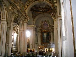 San Jacopo sopr'Arno - The altar of San Jacopo sopr'Arno