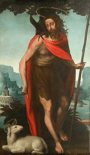 """Saint John the Baptist"" (c.1560) by..."