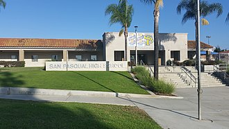 San Pasqual High School (Escondido, California) - Administration office and entrance