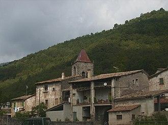 La Vall d'en Bas - Village of Sant Privat d'en Bas