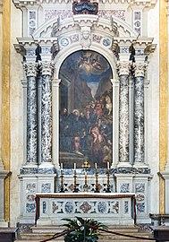 Santa Giustina (Padua) - Right nave - Chapel of saint Benedict