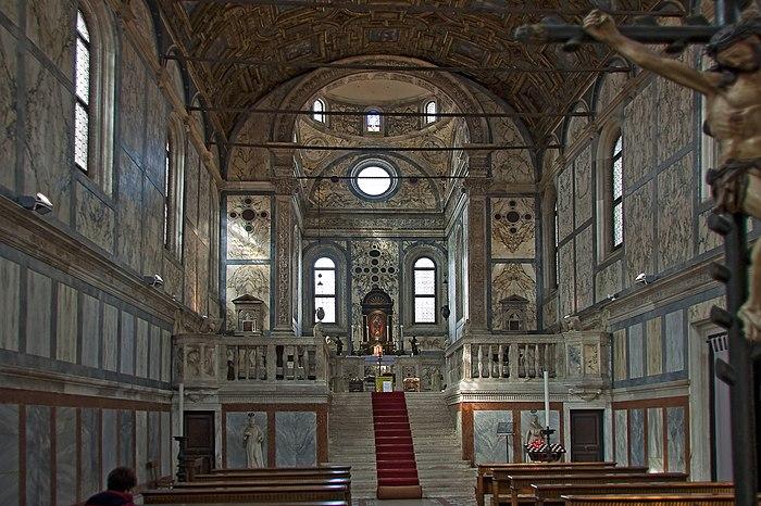 Santa Maria Dei Miracoli (interno)