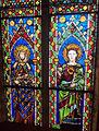 Santa croce, int., cappella maggiore, vetrate su disegno di agnolo gaddi 01.jpg