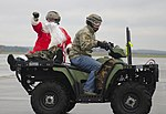 Santa trades sleigh for helicopter, ditches elves for Airmen (Image 2 of 6) (8242060994).jpg