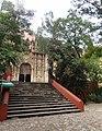 Santuario del Señor de Villaseca, Guanajuato Capital, Guanajuato - Escalinata.jpg