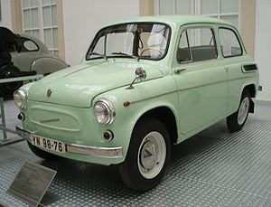 Automotive industry in the Soviet Union - ZAZ-965/965А Zaporozhets