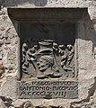 Scarperia, palazzo dei vicari, stemmi in facciata 17 pucci.jpg