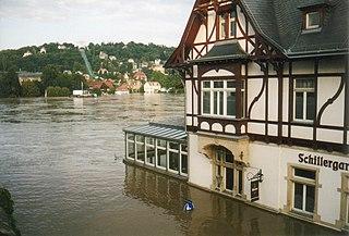 2002 European floods August 2002 flood series