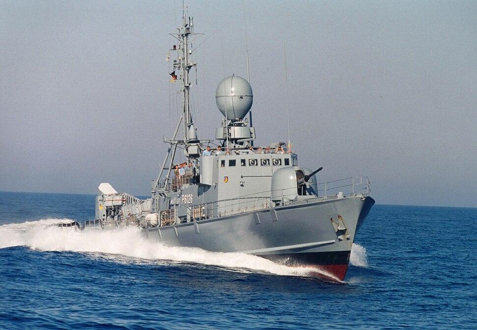 Schnellboot Gepard-Klasse Typ 143 A