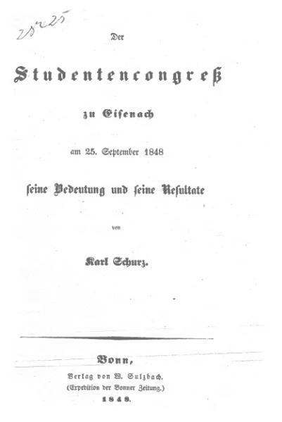File:Schurz Studentencongreß Eisenach1848.djvu