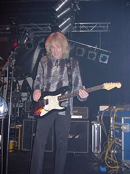 Scott Gorham met Thin Lizzy in De Bosuil in Weert, 2003