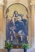 Scuola Grande dei Carmini (Venice) - Cappella della Madonna del Carmelo - Madonna del Carmelo - Sante Piatti.jpg