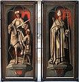 Scuola dei paesi bassi meridionali, ante del trittico di zierikzee, con filippo il bello e giovanna la pazza, 1495-1506 ca. 04.JPG