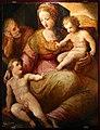 Scuola del naldini, sacra famiglia con san giovannino, xvi secolo.jpg