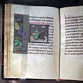 Scuola fiamminga, libro d'ore, ottobre (san luca), fiandre 1490 ca. 02.JPG