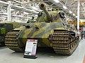 Sd Kfz 182 Panzerkampfwagen VI Ausf B (Tiger 2) (4535852445).jpg