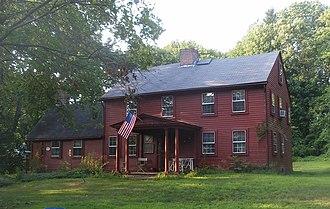 Oaklawn, Rhode Island - The Edward Searle House