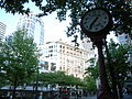 Seattle - Century Square clock 02.jpg