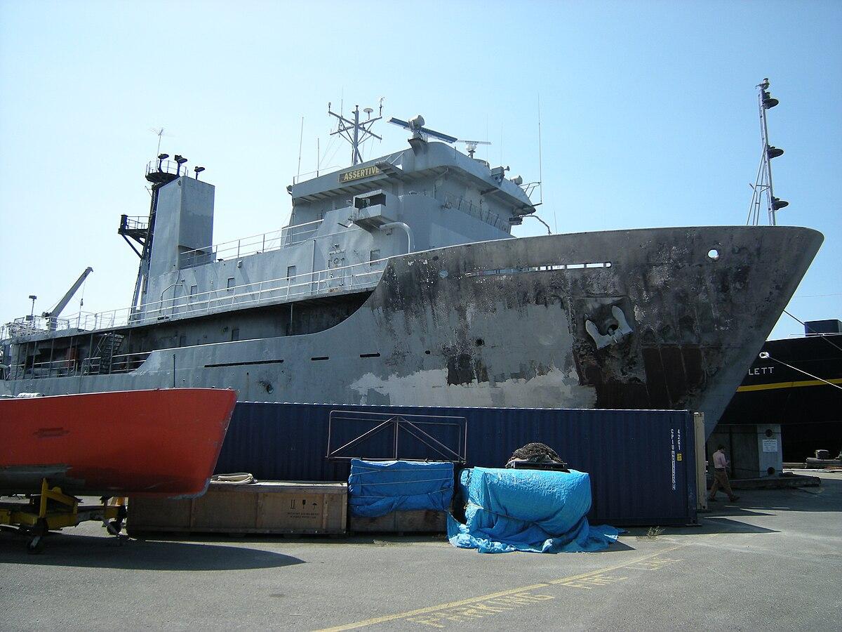 Tacoma To Seattle >> USNS Assertive (T-AGOS-9) - Wikipedia