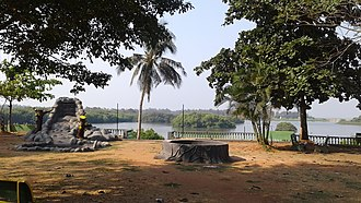 Kasaragod district - Seaview park near railway station