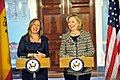 Secretary Clinton and Spanish Foreign Minister Jimenez Deliver Remarks (5387924047).jpg