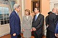 Secretary Kerry Speaks with Senator Murkowski Before the U.S. Chairmanship of the Arctic Council Reception (17761700588).jpg