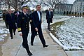 Secretary Kerry Walks With Vice Admiral Carter Before Delivering Remarks at the U.S. Naval Academy in Annapolis (31858097970).jpg