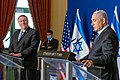 Secretary Pompeo Delivers Joint Statements with Israeli Prime Minister Netanyahu (50621595691).jpg