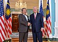 Secretary Tillerson Shakes Hands With Malaysian Foreign Minister Dato' Sri Anifah Aman (33194432310).jpg