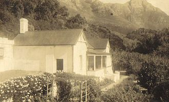 Miller's Point, Western Cape - Old image probably of a section of the Molteno family's retreat in Millers Point, c 1920s