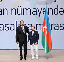 Seeing-off ceremony for Azerbaijani sportsmen to represent the country at the London 2012 Summer Olympic Games 6.jpg