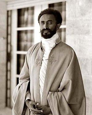 Selassie I. Bless.