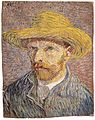 Self-Portrait with a Straw Hat (obverse- The Potato Peeler) MET ep67.187.70A.R.jpg