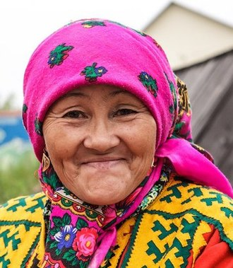 Selkup people - Image: Selkup grandmother