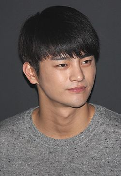 "Seo In-guk at ""No Breathing"" stage greeting in Busan, 2 November 2013.jpg"